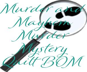 Murder and Mayhem Footprints Medium Rectangle 300x250